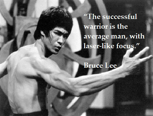 Image result for focus bruce lee